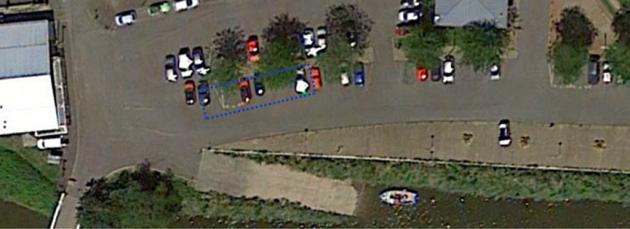 Une partie du parking attenant au port sera neutralisée pour permettre à l'entreprise d'installer son chantier composée d'une base vie, d'une zone de stockage…