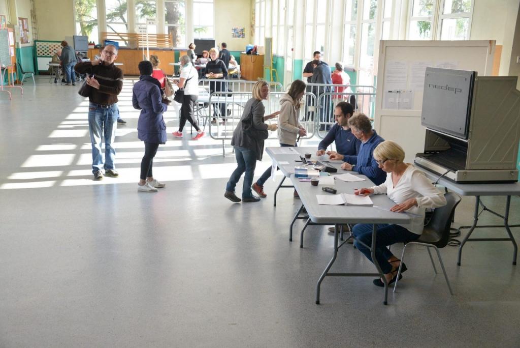 Bureaux de vote, école Paul-Bert