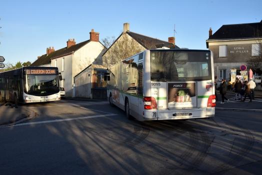 Ligne de bus TAN Couëron / Gare maritime express E1